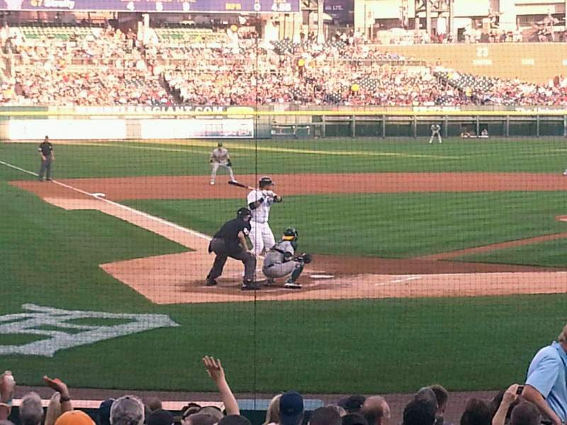 Seating view for Comerica Park Section 125 Row 19 Seat 6