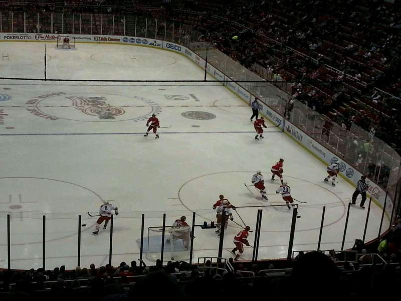 Seating view for Joe Louis Arena Section 217 Row 18 Seat 3