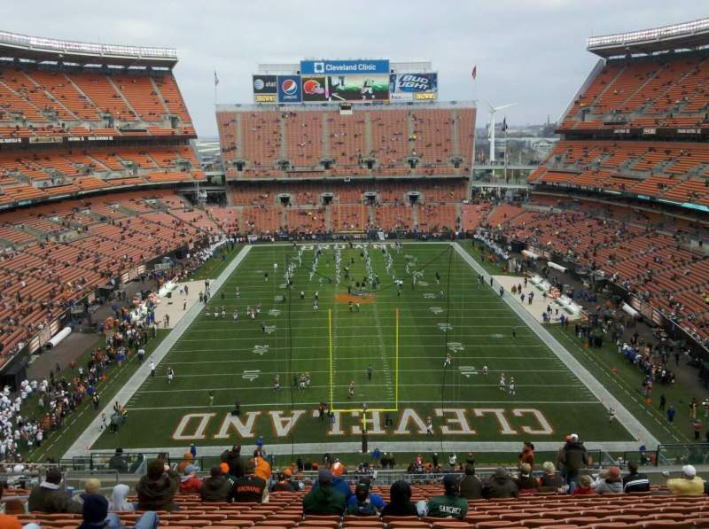 Seating view for FirstEnergy Stadium Section 347 Row 28 Seat 11