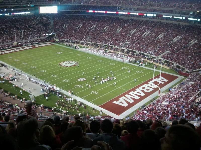 Seating view for Bryant-Denny Stadium Section NN-12