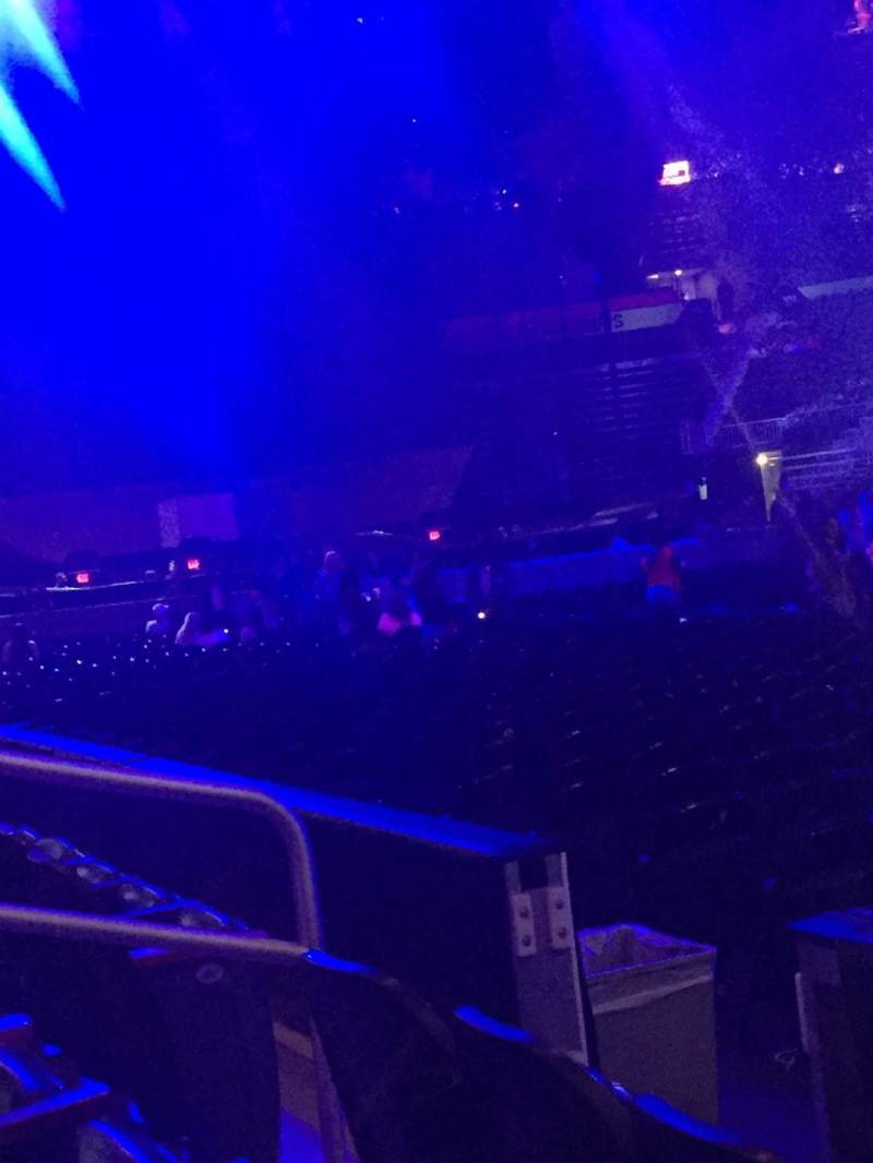Seating view for Philips Arena Section 113 Row C Seat 3