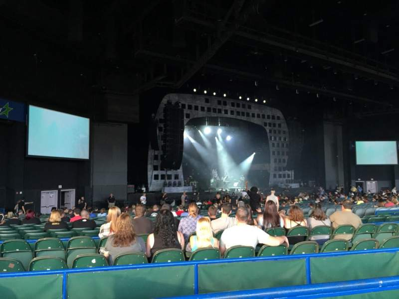 BB&T Pavilion, section: 203, row: 59, seat: 1