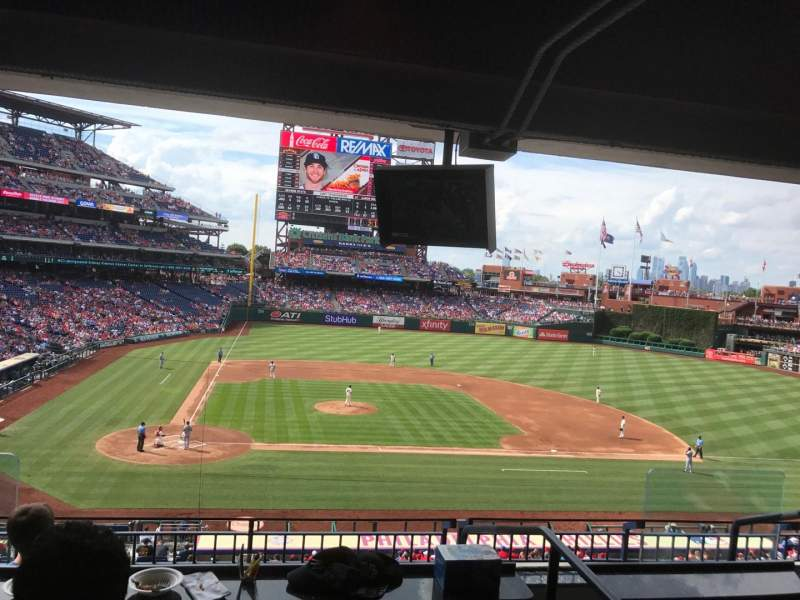 Seating view for Citizens Bank Park Section Suite 43 Row 2 Seat 3