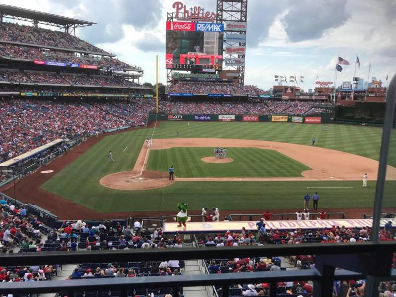 Seating view for Citizens Bank Park Section Suite 43 Row 1 Seat 2