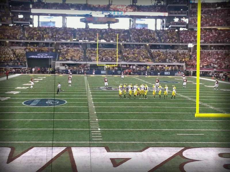Seating view for AT&T Stadium Section 124 Row 9 Seat 2