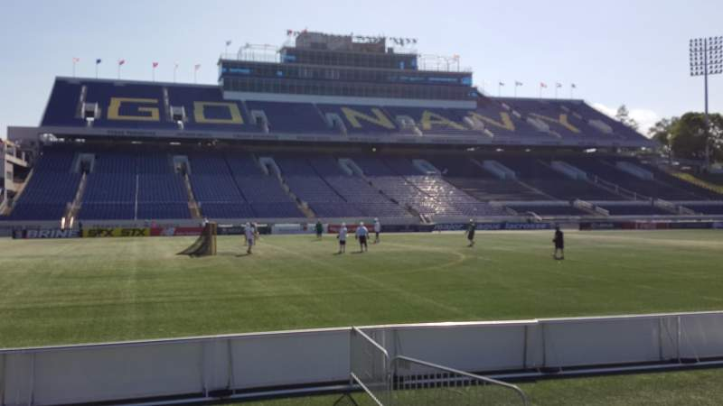 Seating view for Navy-Marine Corps Memorial Stadium Section 31 Row E Seat 1