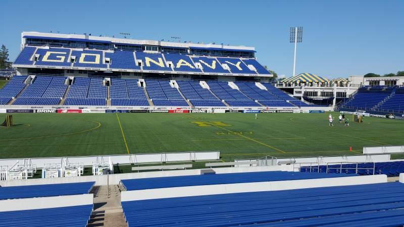 Navy-Marine Corps Memorial Stadium, section: 6, row: 15, seat: bleachers