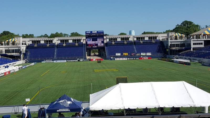 Seating view for Navy-Marine Corps Memorial Stadium Section c Row 5 Seat 12