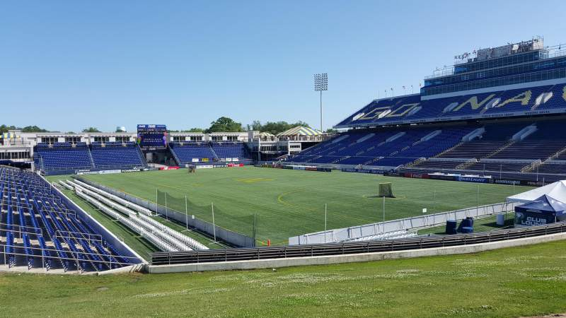 Navy-Marine Corps Memorial Stadium, section: D, row: 5, seat: 35