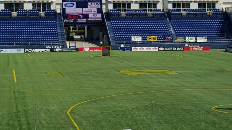 Navy-Marine Corps Memorial Stadium, section: C, row: 5, seat: 35