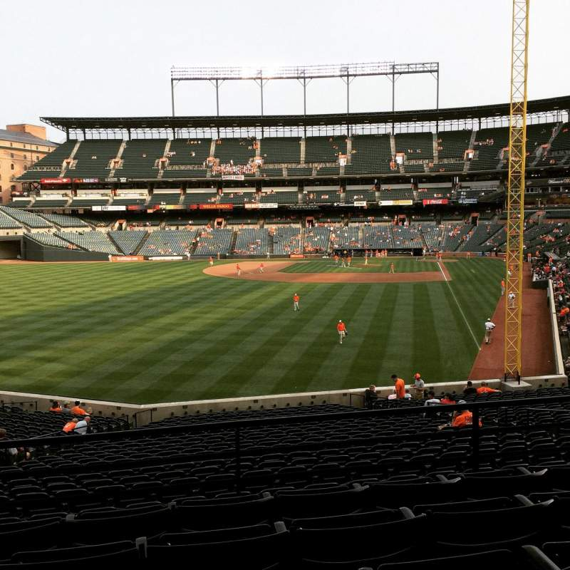 Seating view for Oriole Park at Camden Yards Section 79 Row 5 Seat 10