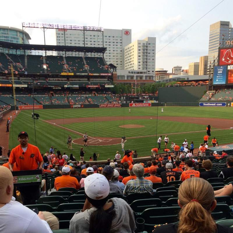 Seating view for Oriole Park at Camden Yards Section 32 Row 26 Seat 12