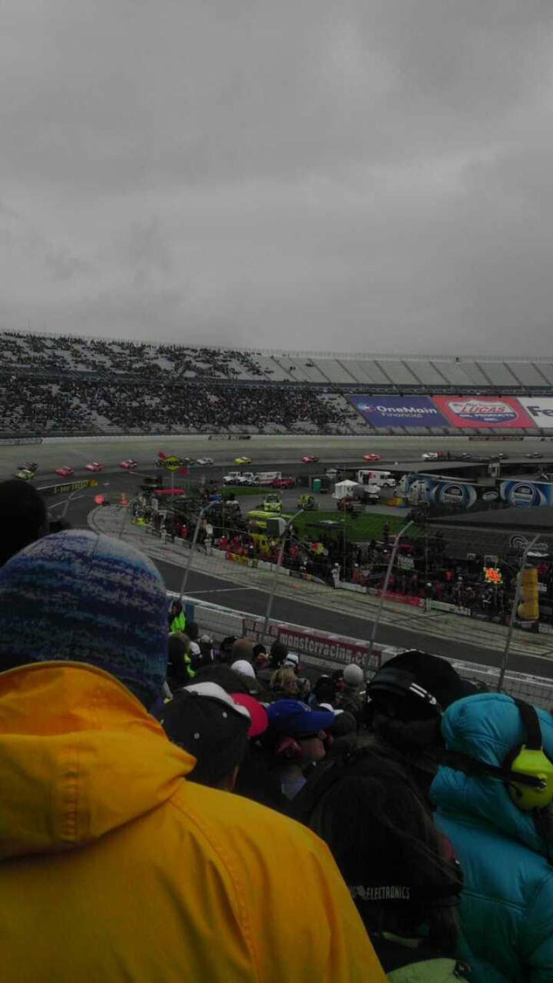Seating view for Dover International Speedway Section 110 Row 23 Seat 3