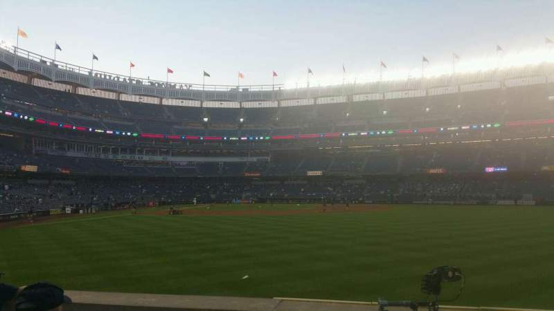 Seating view for Yankee Stadium Section 104 Row 6 Seat 4