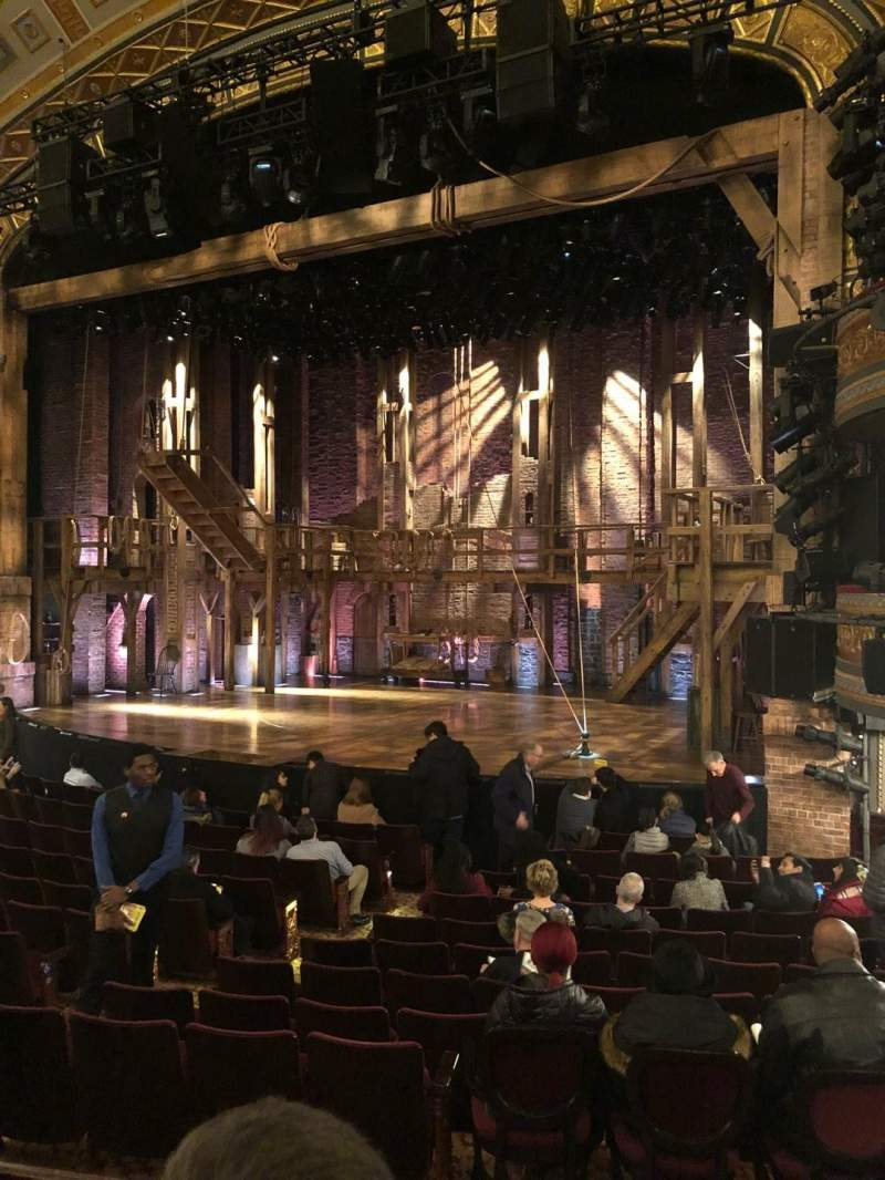 Seating view for Richard Rodgers Theatre Section Orchestra R Row N Seat 18