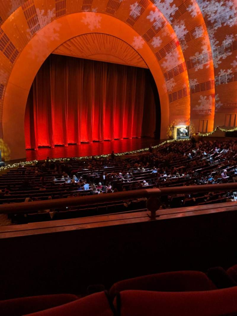 Seating view for Radio City Music Hall Section 1st Mezzanine 7 Row BB Seat 710