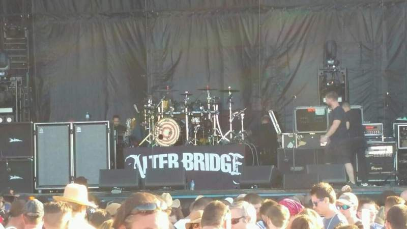 Seating view for FedEx Stage at the BSMF Section Lawn