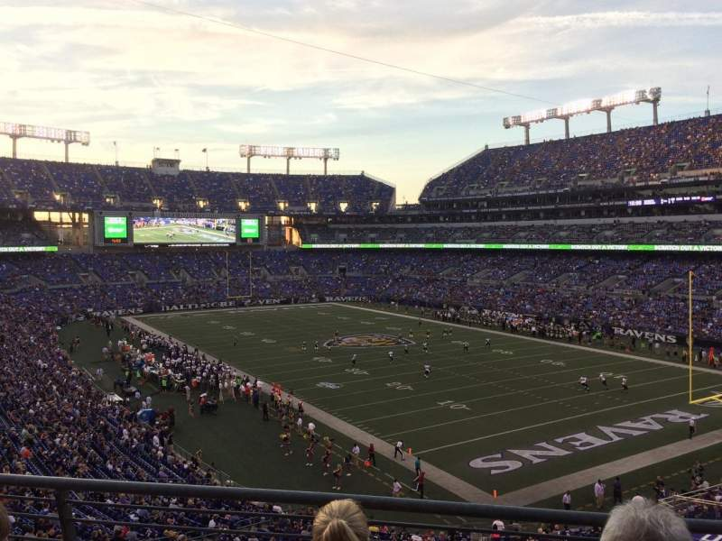 M&T Bank Stadium, section: 218, row: 3, seat: 7