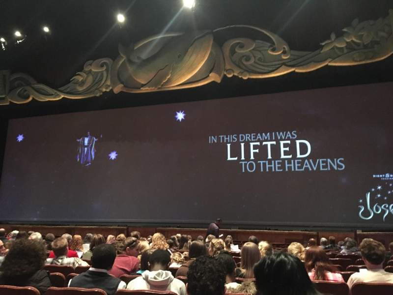 Seating view for Sight & Sound Millennium Theatre Section 103 Row R Seat 64