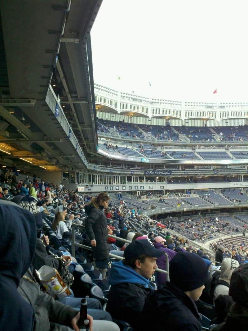Seating view for Yankee Stadium Section 212 Row 13 Seat 13