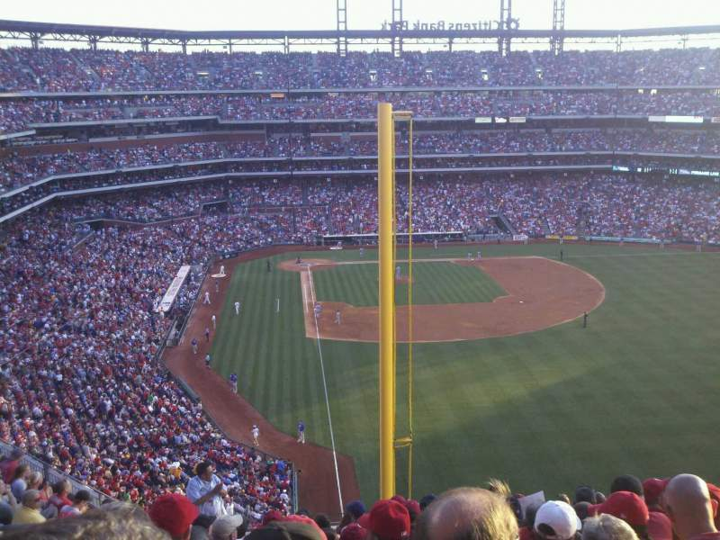 Seating view for Citizens Bank Park Section 305 Row 13 Seat 15