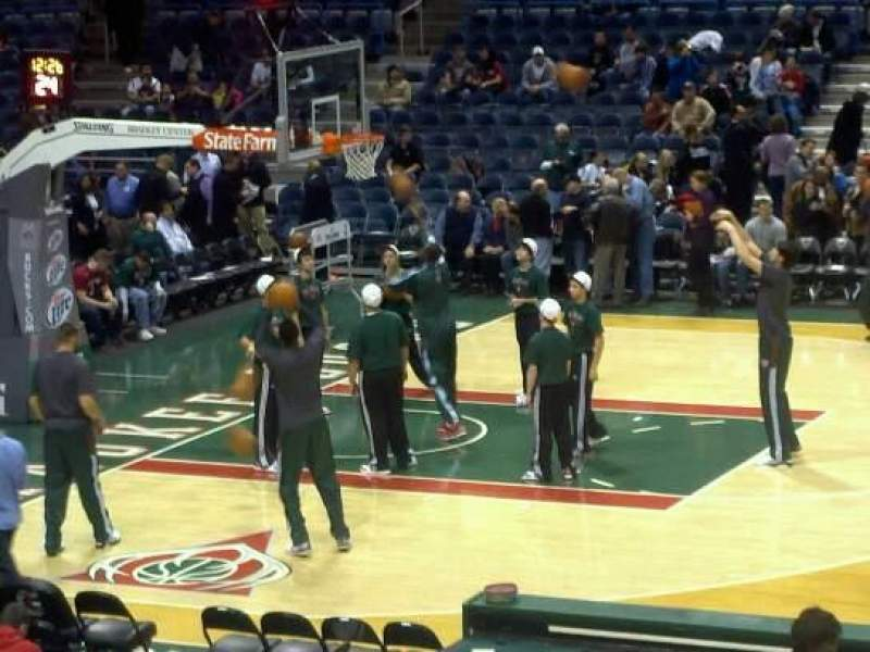 Seating view for BMO Harris Bradley Center Section 214 Row S Seat 8