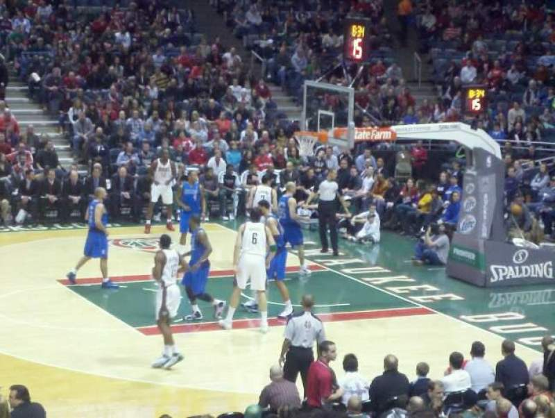 Seating view for BMO Harris Bradley Center Section 214 Row S Seat 10