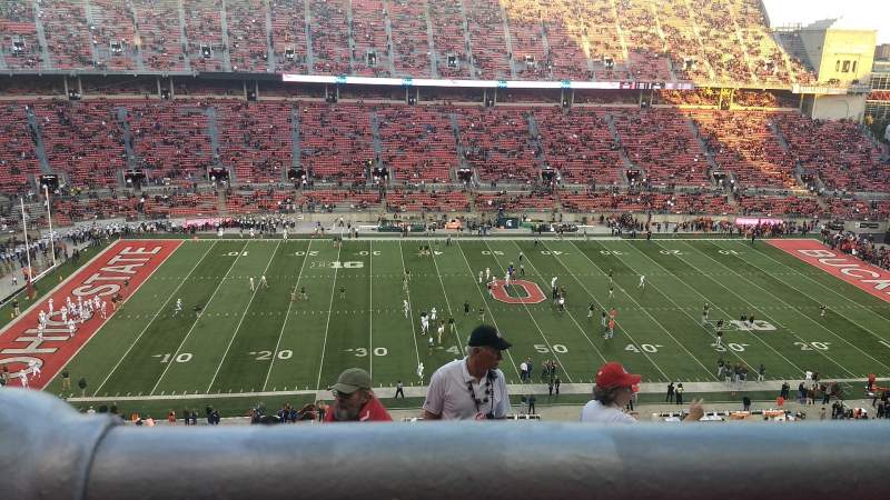 Seating view for Ohio Stadium Section 19C Row 8 Seat 8