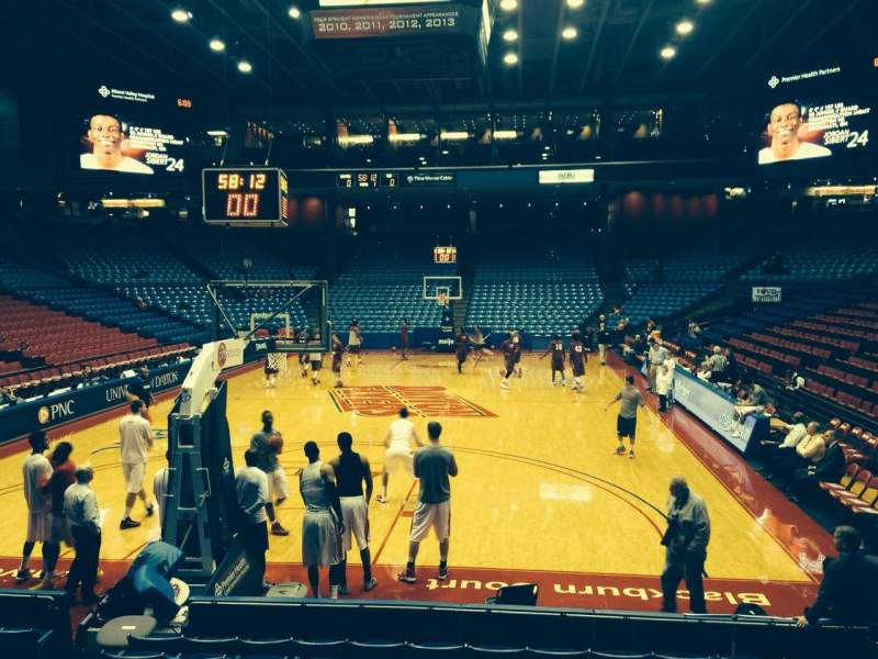 Seating view for University Of Dayton Arena Section 108 Row i Seat 10