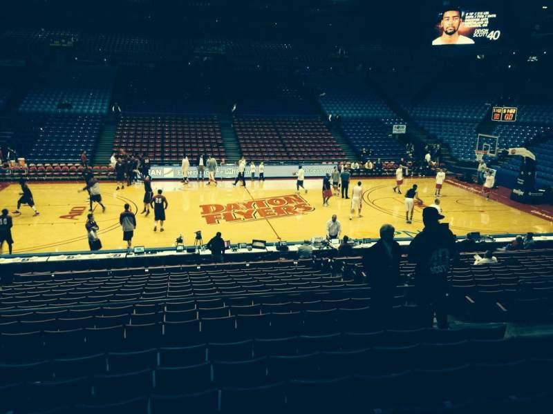 University Of Dayton Arena, section: 219, row: H, seat: 8