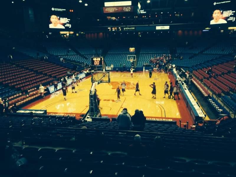 University Of Dayton Arena, section: 224, row: H, seat: 7