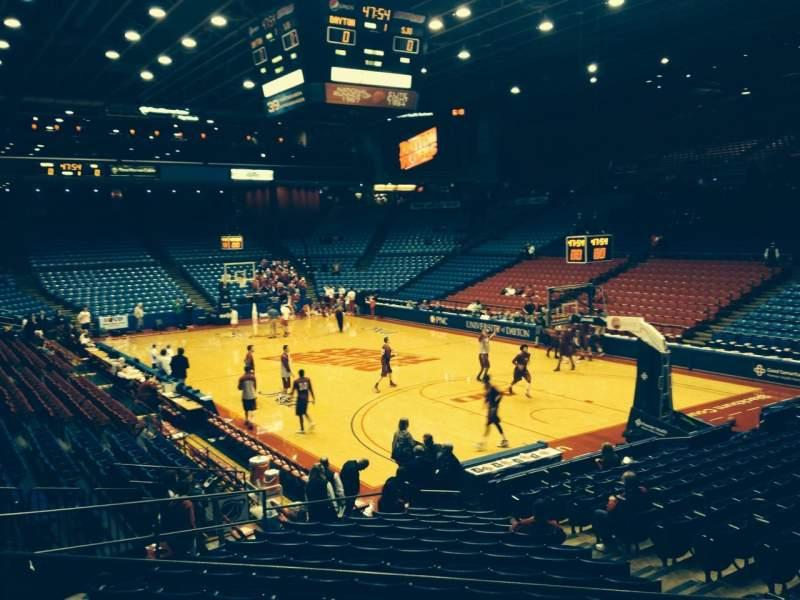 University Of Dayton Arena, section: 202, row: E, seat: 12