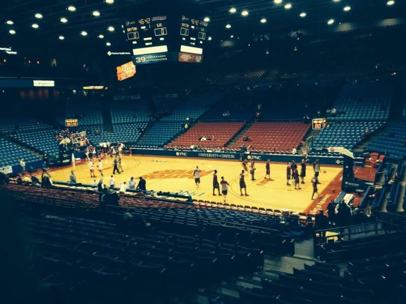 University Of Dayton Arena, section: 204, row: L, seat: 8