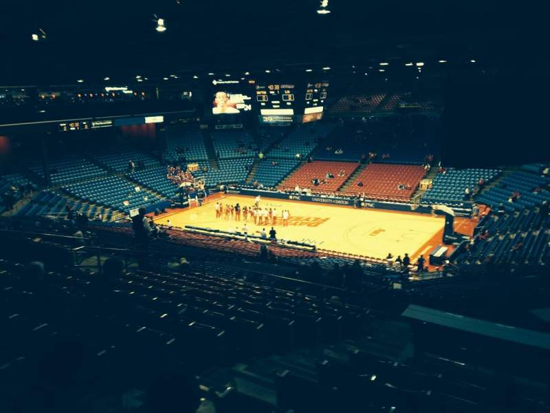 Seating view for University Of Dayton Arena Section 301 Row M Seat 4