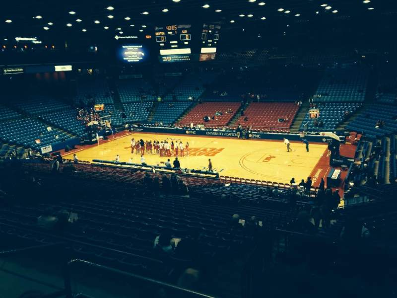 Seating view for University Of Dayton Arena Section 302 Row C Seat 6