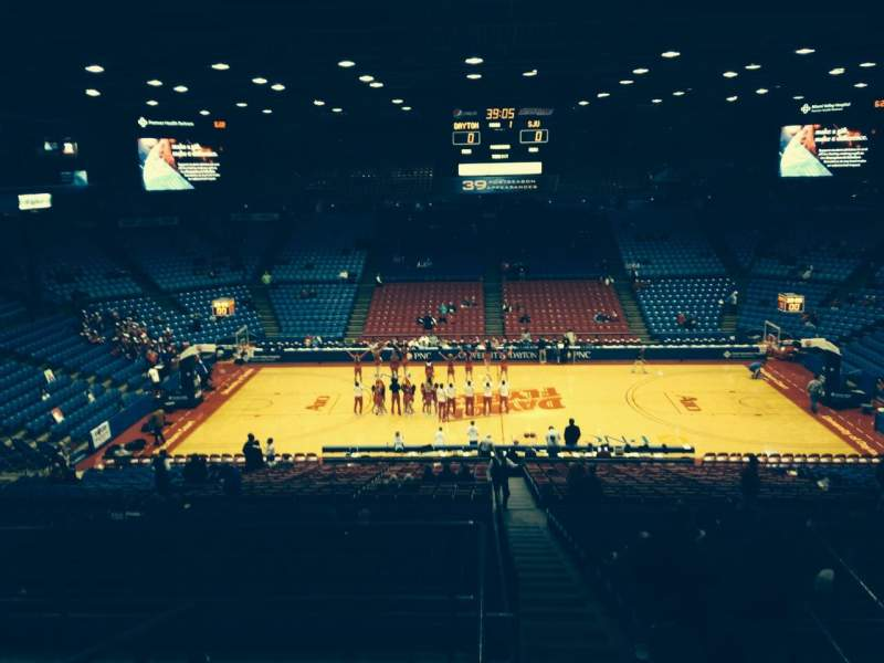 Seating view for University Of Dayton Arena Section 304 Row F Seat 10
