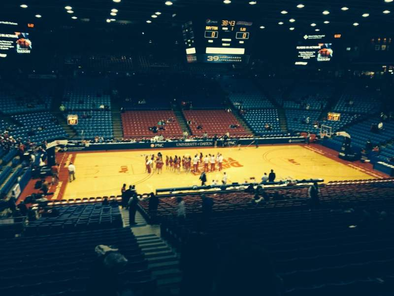 Seating view for University Of Dayton Arena Section 305 Row A Seat 11
