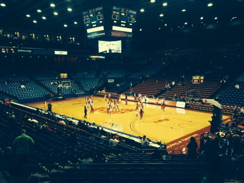 Seating view for University Of Dayton Arena Section 216 Row H Seat 6