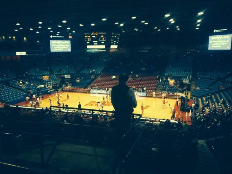 University Of Dayton Arena, section: 309, row: F, seat: 12