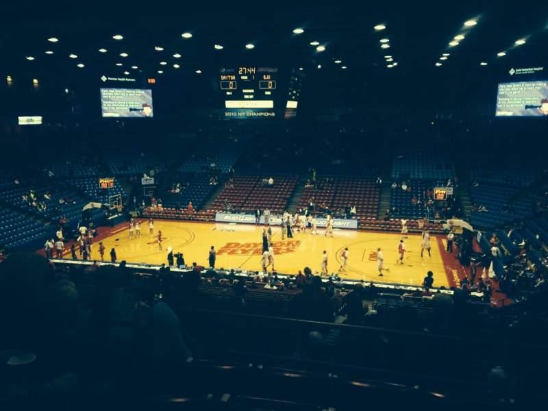 University Of Dayton Arena, section: 310, row: E, seat: 6