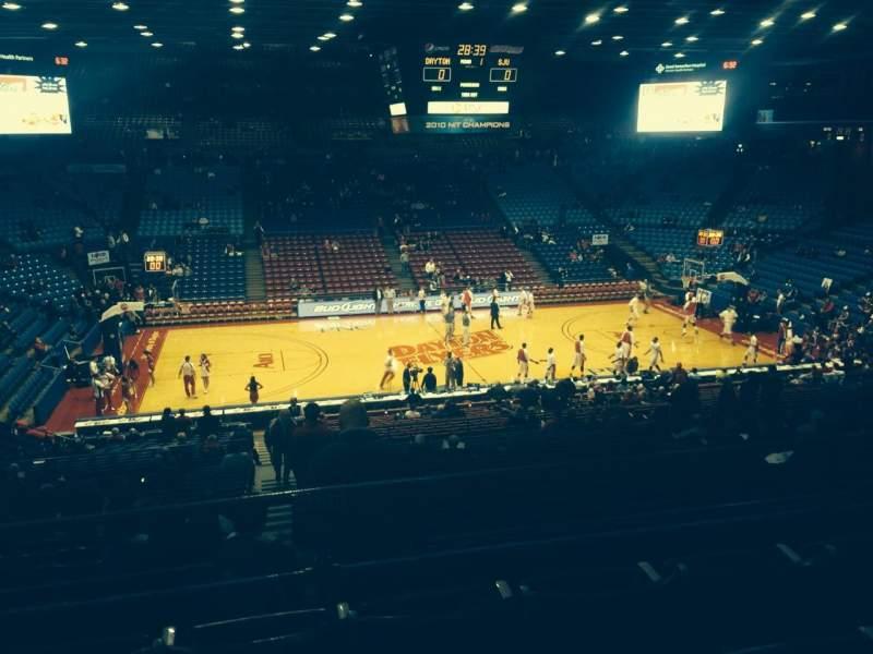University Of Dayton Arena, section: 312, row: D, seat: 9