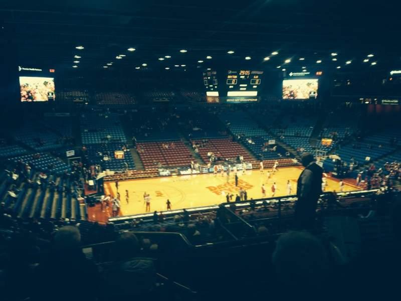 University Of Dayton Arena, section: 313, row: H, seat: 8