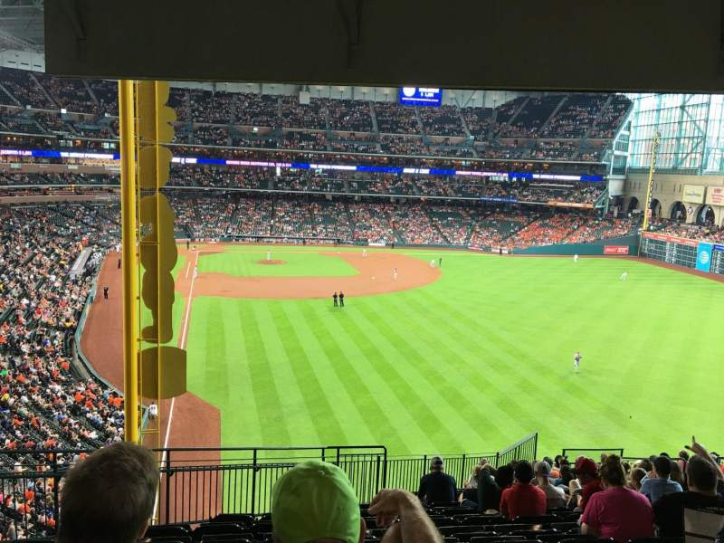 Seating view for Minute Maid Park Section 251 Row 17 Seat 3