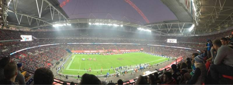 Seating view for Wembley Stadium Section 529 Row 04 Seat 088