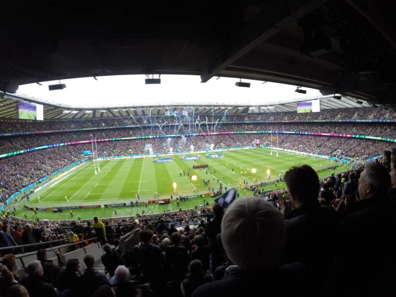Seating view for Twickenham Stadium Section M9 Row 68 Seat 226