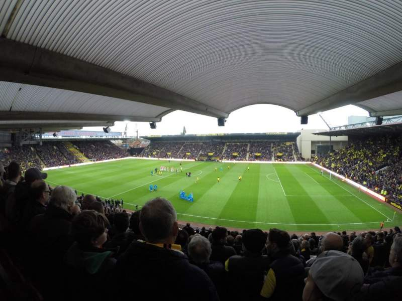 Seating view for Vicarage Road Section Box