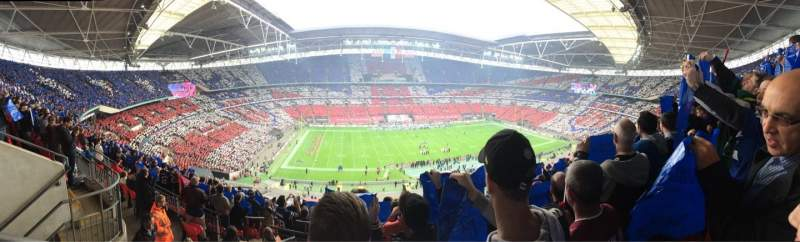 Seating view for Wembley Stadium Section 503 Row 12 Seat 67