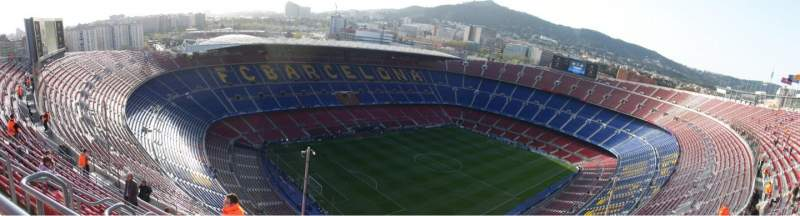Seating view for Camp Nou