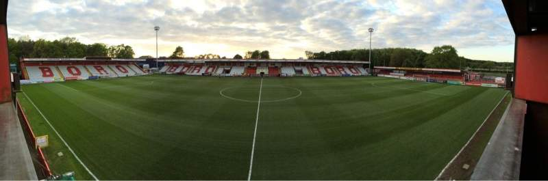 Seating view for Lamex Stadium
