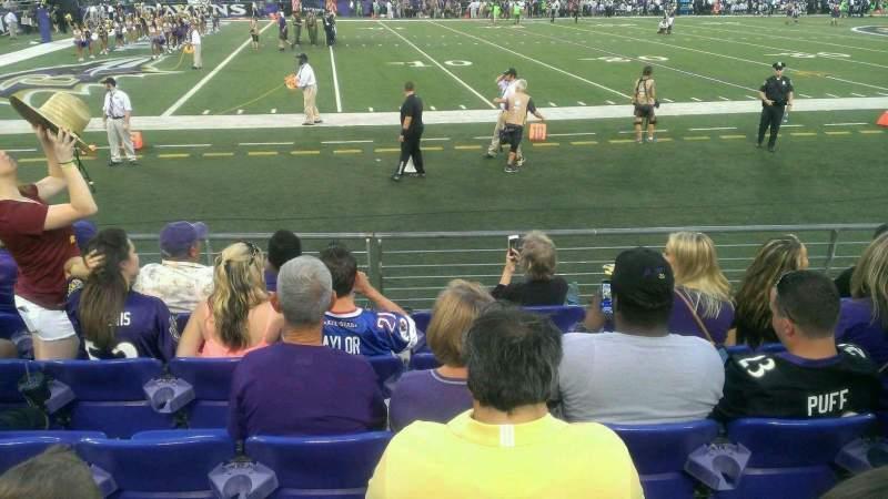 M&T Bank Stadium, section: 103, row: 6, seat: 11-14